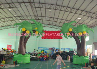 China Arco inflable modificado para requisitos particulares para el acontecimiento, arco inflable del árbol de la decoración al aire libre fábrica