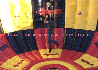 China Tamaño y color modificados para requisitos particulares juego inflable ignífugo del vórtice de la competencia fábrica