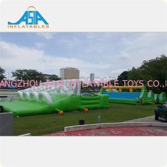 China Curso de obstáculos inflable insano durable 5k los 72x12m o modificado para requisitos particulares fábrica