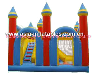 China Gorila inflable combo/inflable divertida con el puente inflable de la diapositiva fábrica