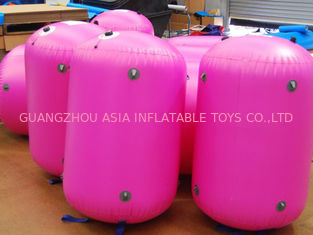 China arcón inflable customed lona del PVC Paintball de 0.9m m fábrica