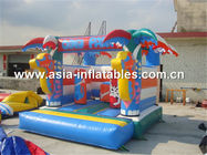 Gorila inflable combo/inflable, casa inflable de la despedida proveedor